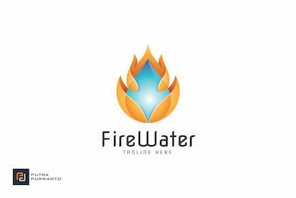Fire Water - Logo Template