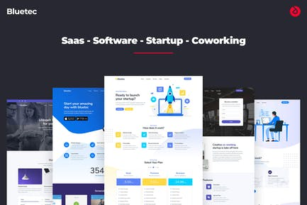 Bluetec - Saas, IT Software, Startup and Coworking