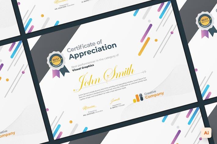 Thumbnail for Certificate Illustrator