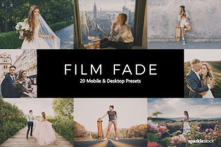 20 Film Fade Lightroom Presets & LUTs