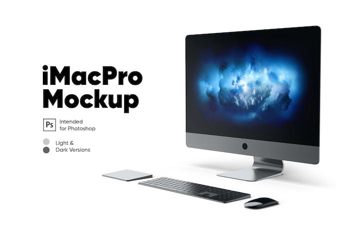 Thumbnail for iMac Pro Mockup