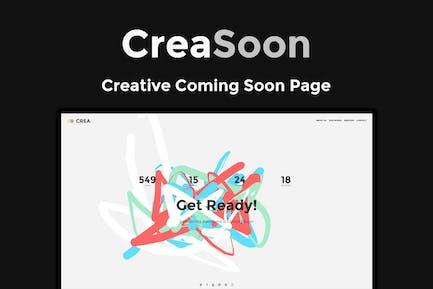 Creasoon - Kreative bald Vorlage