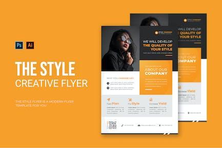 Style Company - Flyer