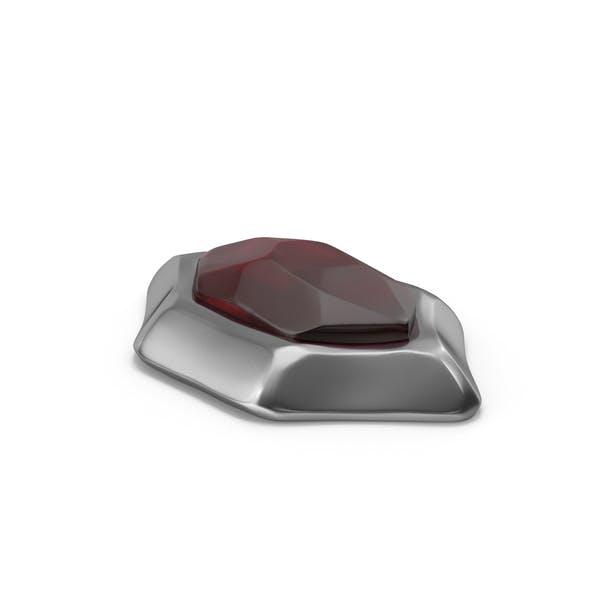 Рубиновый драгоценный камень
