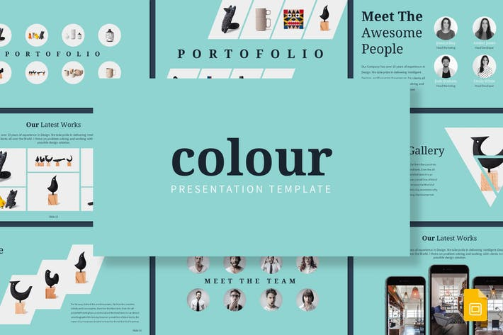 Colour - Google Slides Template