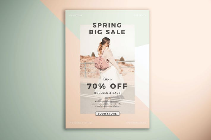 Thumbnail for Spring Fashion Sale Flyer