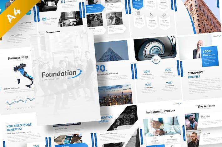 Thumbnail for Foundation Portrait Presentation Template