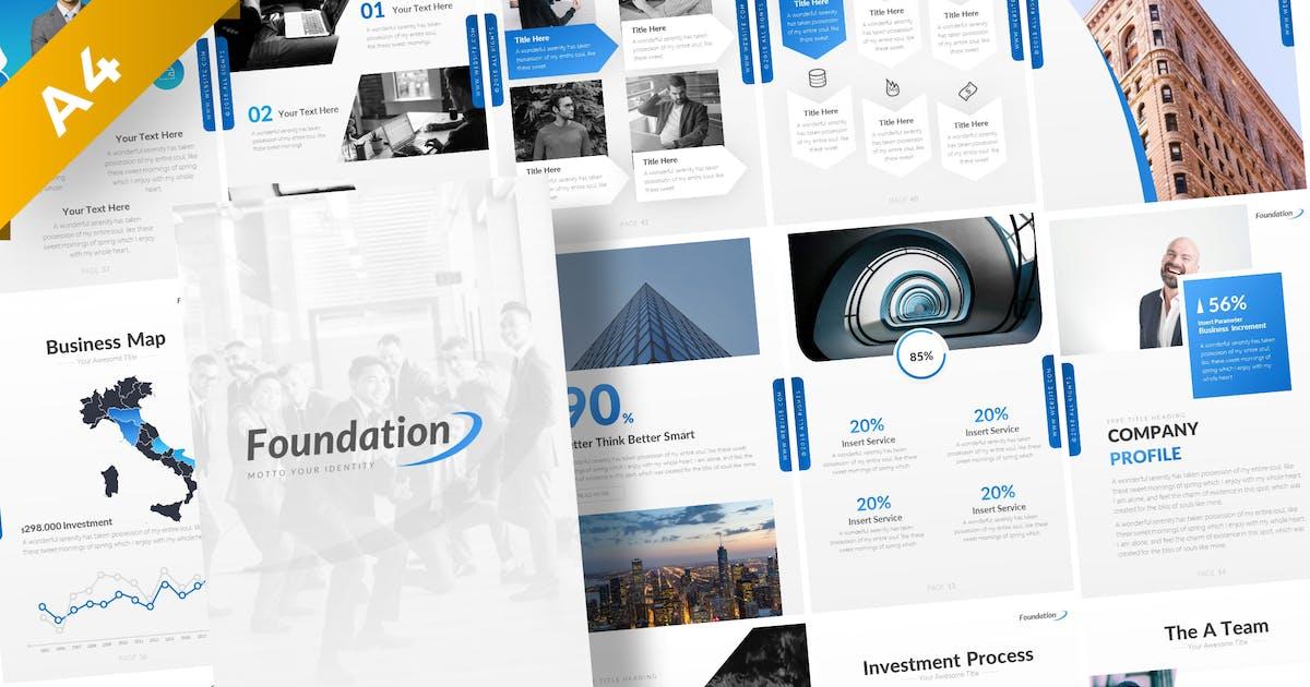 Download Foundation Portrait Presentation Template by BrandEarth