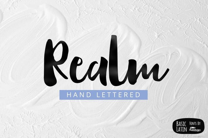 Thumbnail for Realm Font