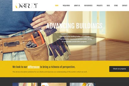 Konstruct - Html Construction, Building And Busine