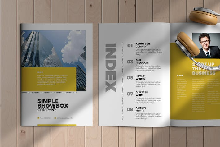 Thumbnail for InDesign Brochure Template
