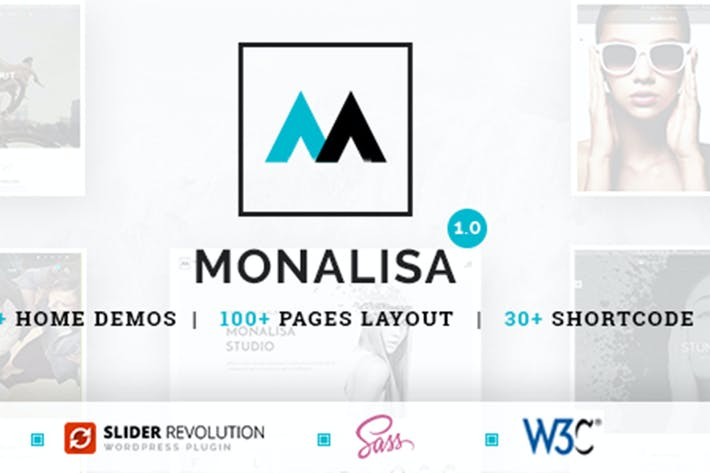 Thumbnail for Monalisa - Business HTML Template
