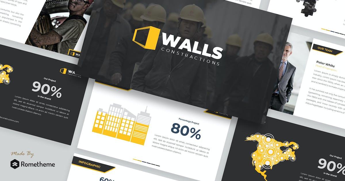 Download Walls - Construction Presentation Template by Rometheme