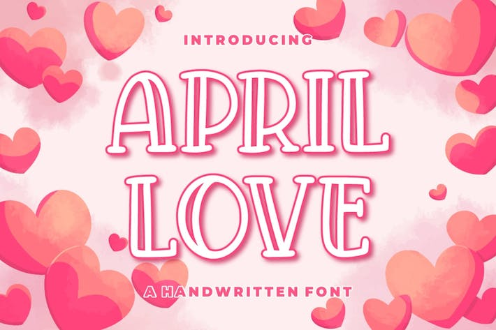 Thumbnail for April Love - Fuente artesanal