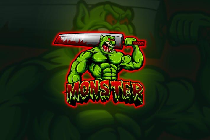 Thumbnail for Monster - Mascot & Esport Logo