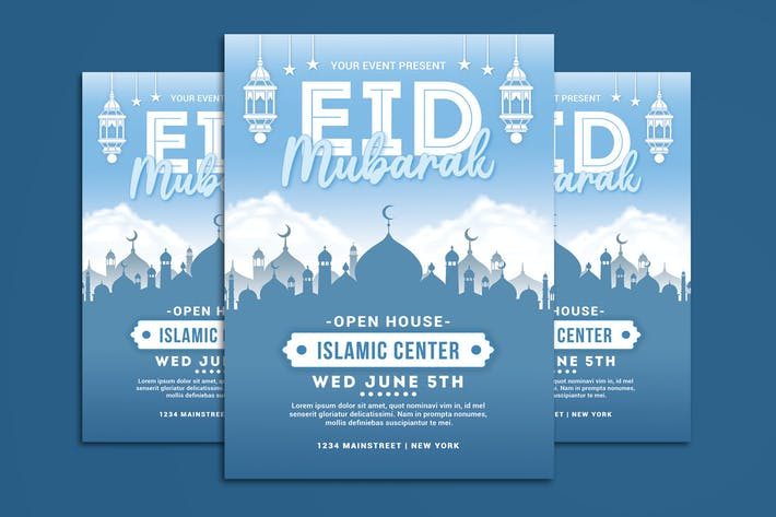 Thumbnail for Eid Mubarak Flyer