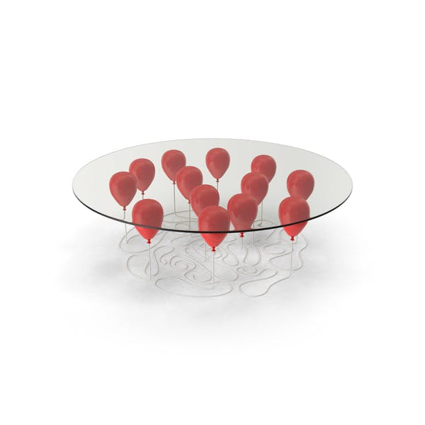 Red Balloon Coffee Table