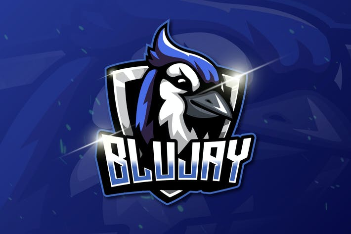 Thumbnail for BLUJAY - Mascot & Esport Logo