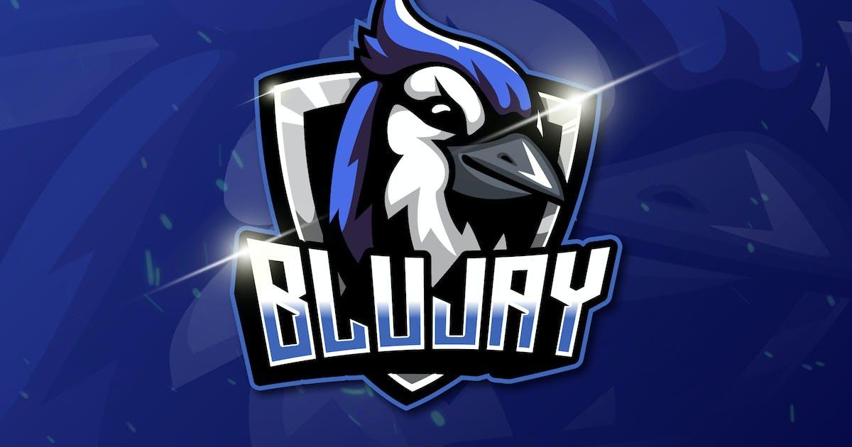Download BLUJAY - Mascot & Esport Logo by aqrstudio