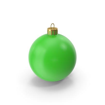 Рождественский орнамент зеленый