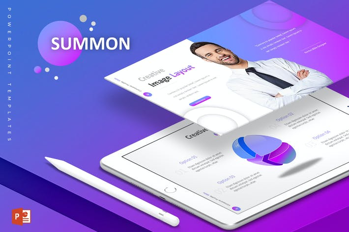 Thumbnail for Summon - Powerpoint Template