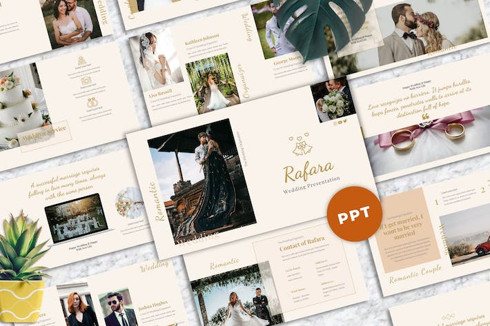 Rafara  - Wedding Powerpoint Templates