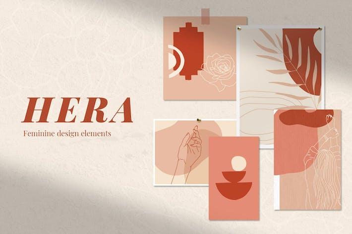 Thumbnail for Hera: Feminine Abstract Elements