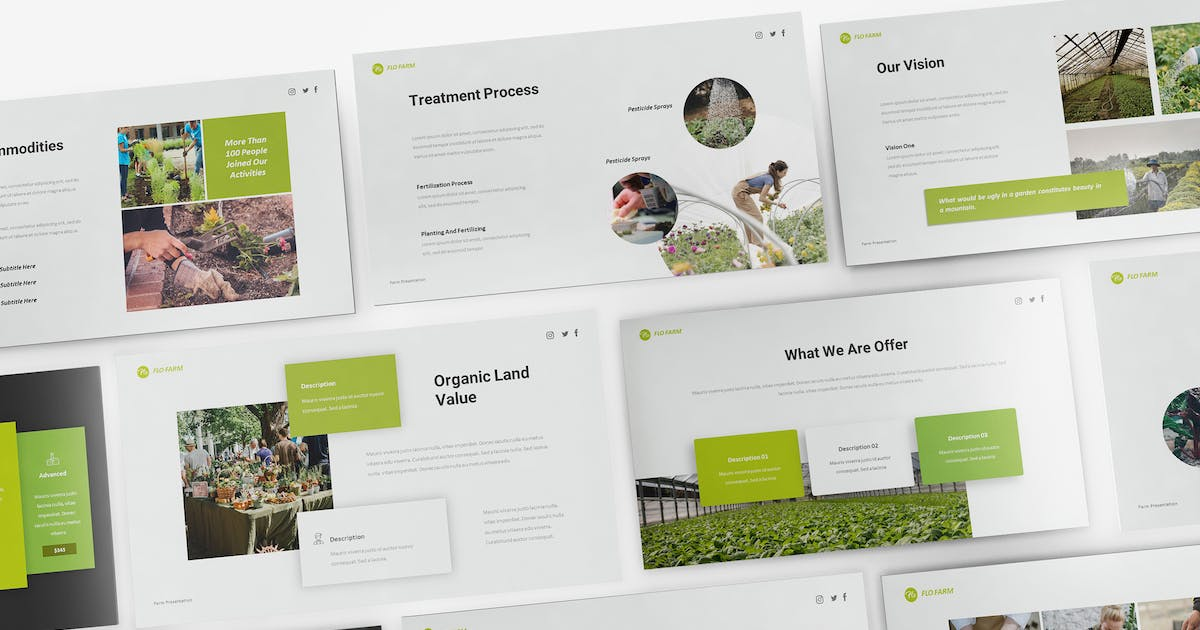 Download Hydroponics Keynote Presentation Template by giantdesign