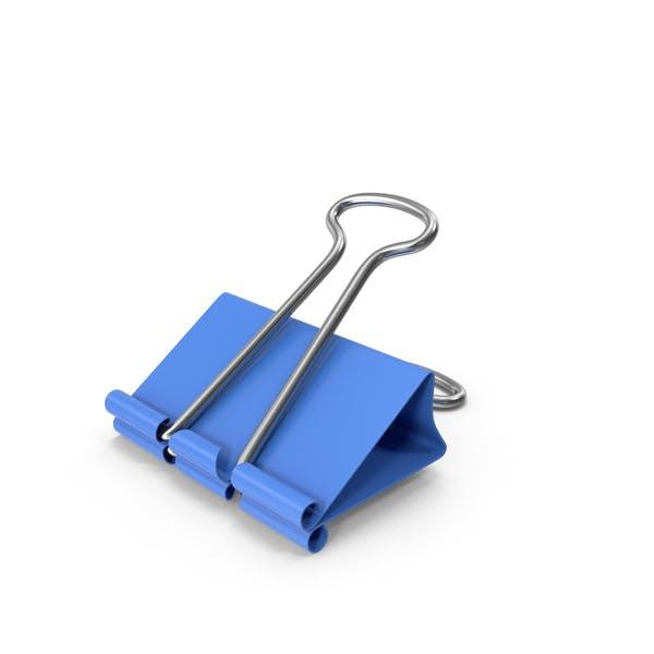 Binder Clip Blue