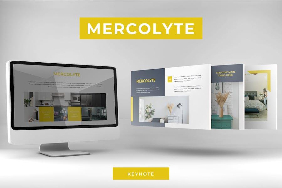 Mercolyte - Keynote Template