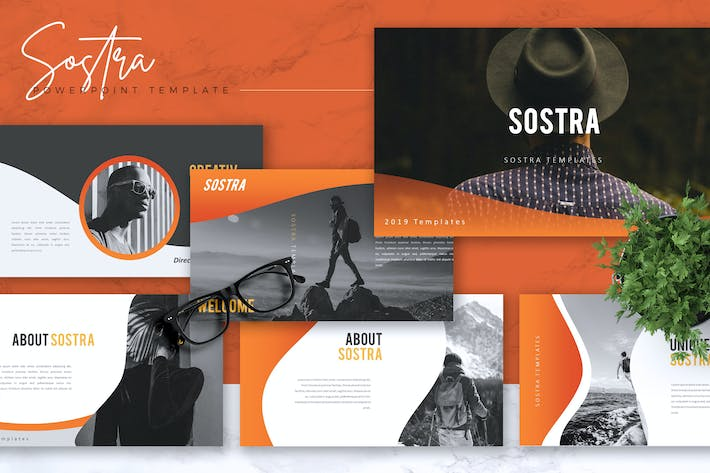 Thumbnail for SOSTRA - Creative Powerpoint Template