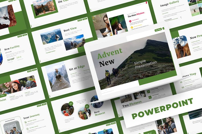 Thumbnail for Advent New - Powerpoint Template