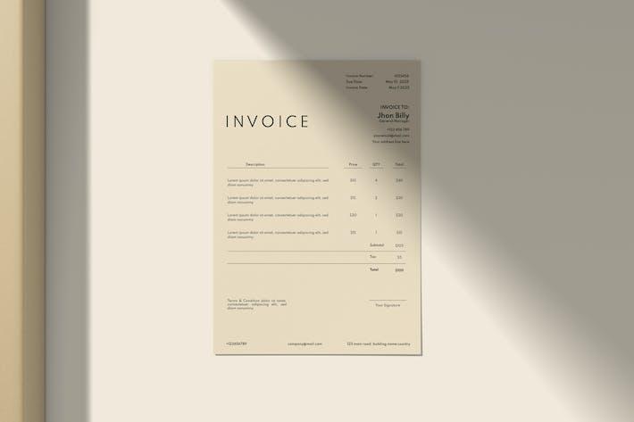 Minimal Invoice
