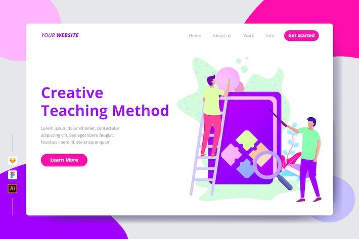 Thumbnail for Creative Teaching Method - Landing page