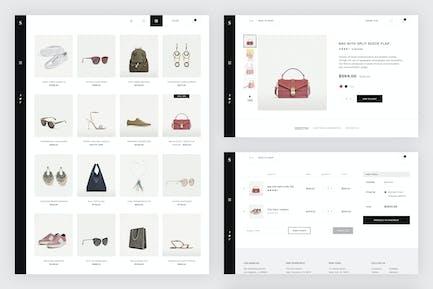 Skiboo - Modern & Minimal eCommerce PSD Template