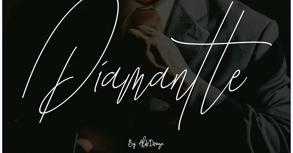 Diamante Signature by aldedesign