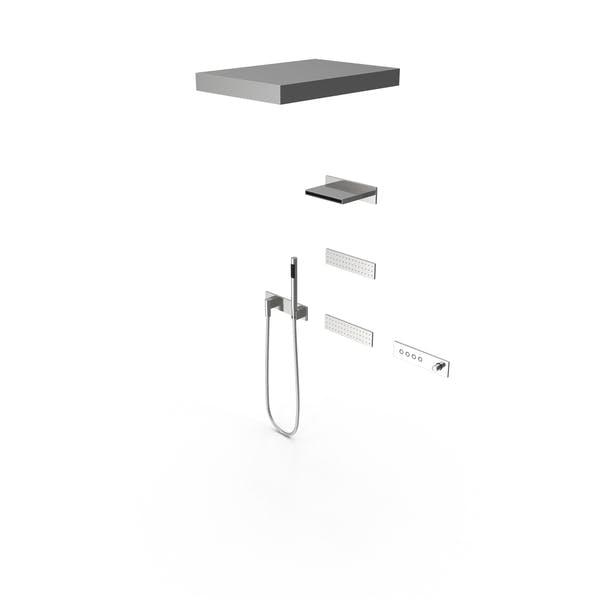 Contemporary Shower Fixture