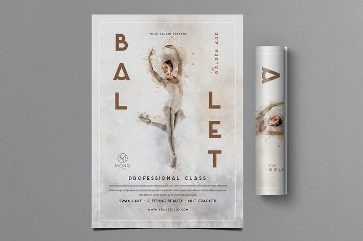Thumbnail for Ballet Flyer