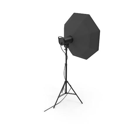 Strobe Studio Monolight Octabox Kopf Und Stativ