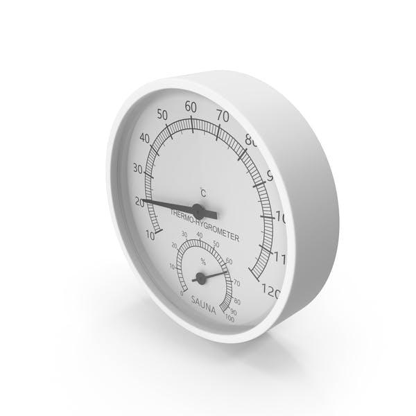 Sauna Thermo-Hygrometer