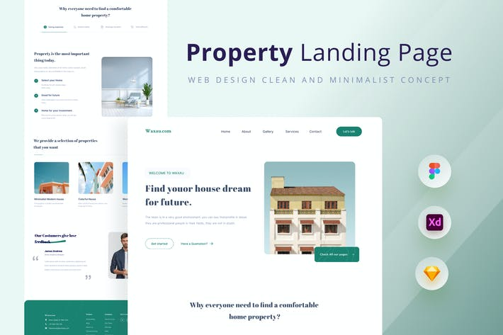 Thumbnail for Property landing page