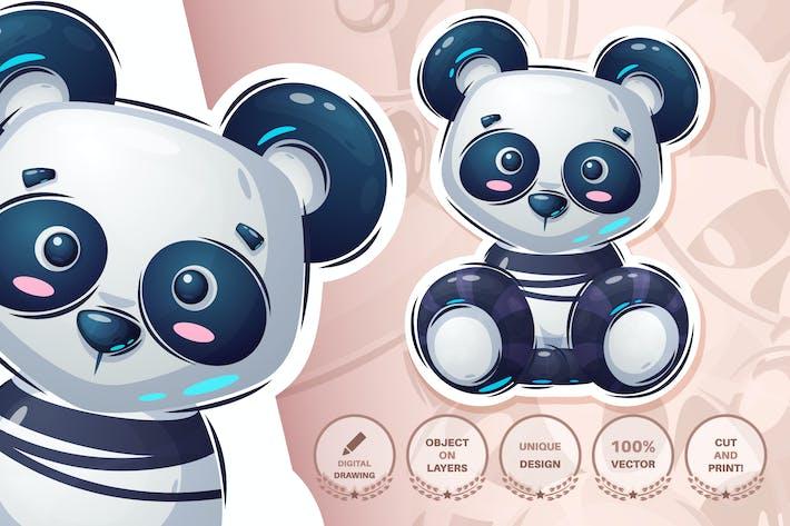 Thumbnail for Teddy panda