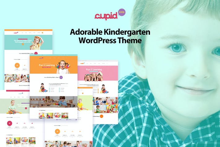 Thumbnail for CUPID - Adorable Kindergarten WordPress Theme