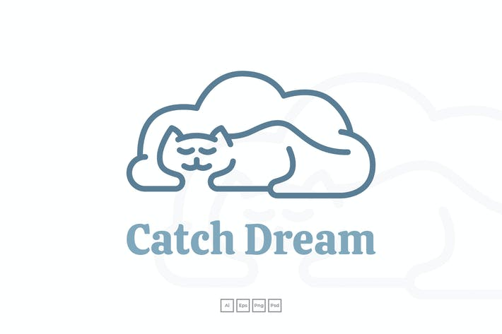 Thumbnail for Cat Cloud Logo