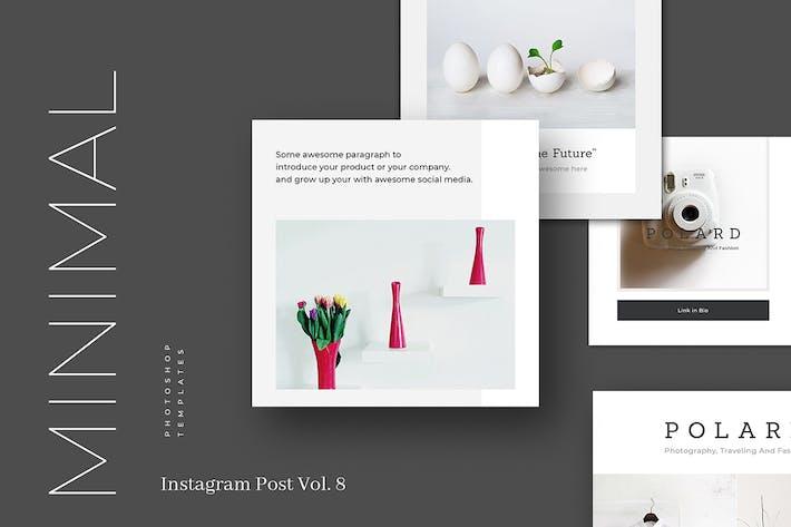 Minimal Instagram Post Vol. 8