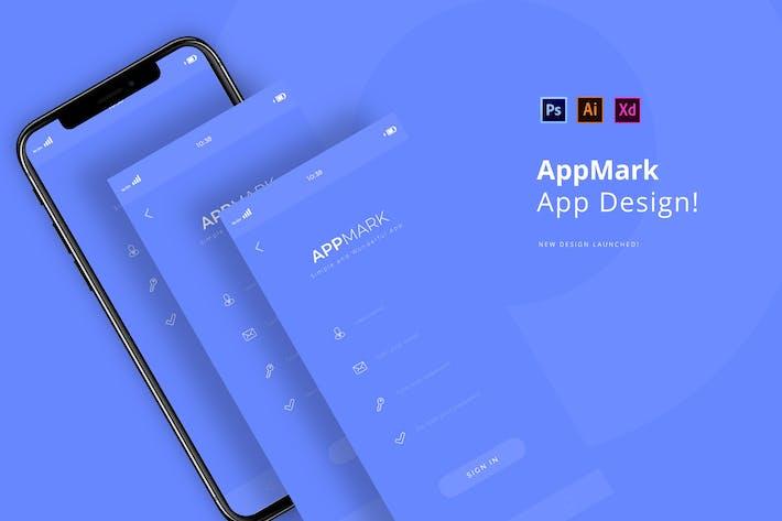 Thumbnail for AppMark Login-App