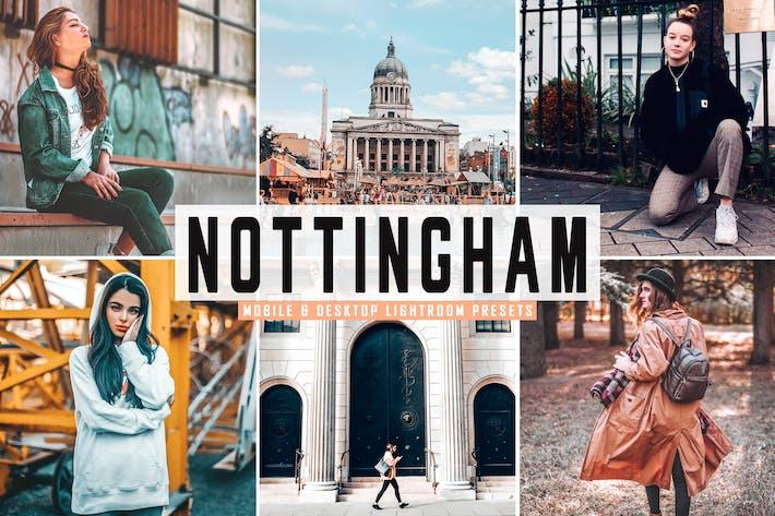 Thumbnail for Nottingham Mobile & Desktop Lightroom Presets
