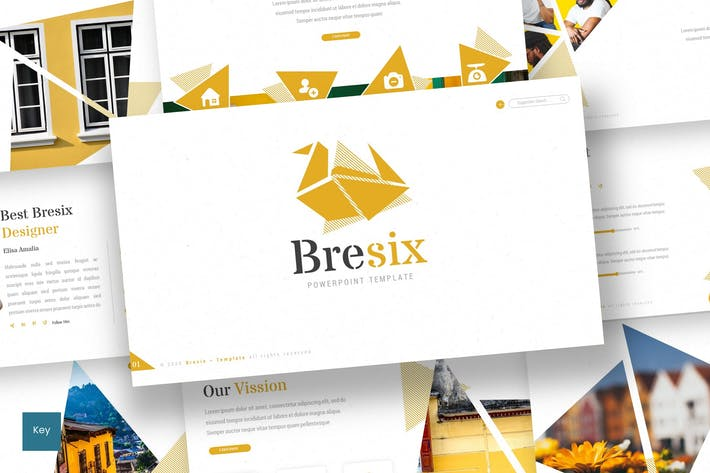Thumbnail for Bresix - Keynote Template