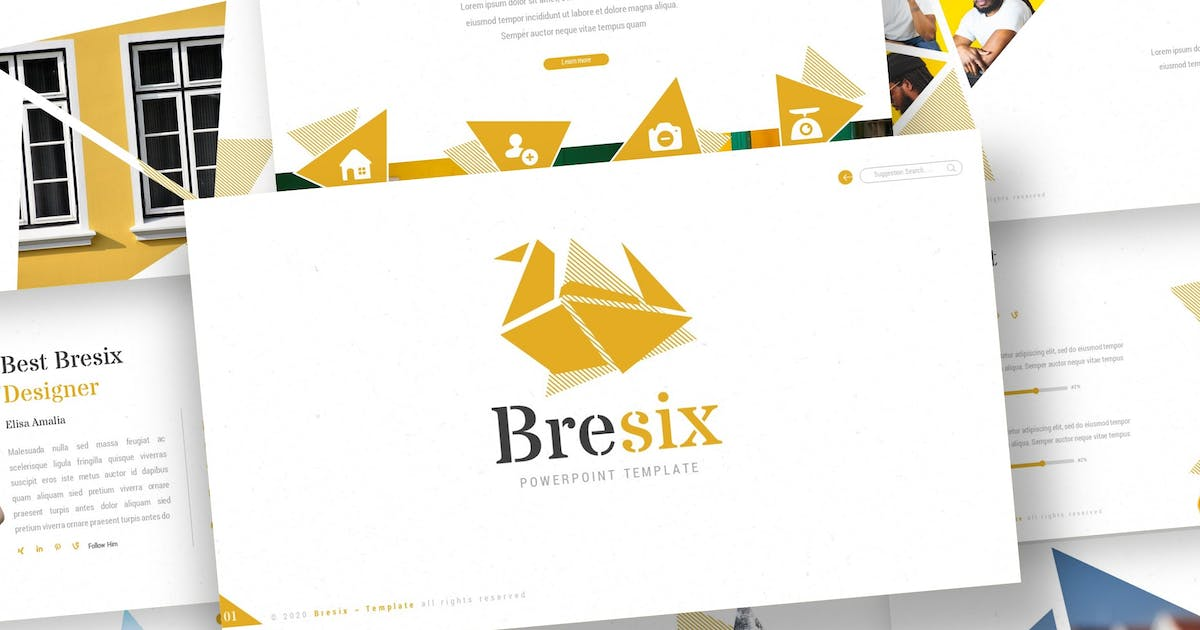 Download Bresix - Keynote Template by inspirasign