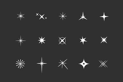 15 Sparkle Light Icons